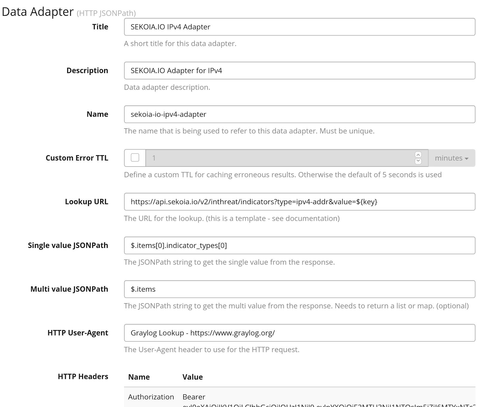 SEKOIA.IO IPv4 Adaptater