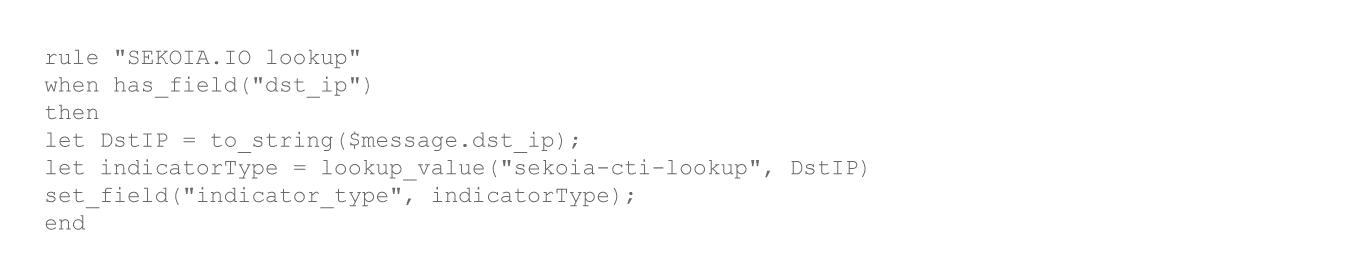 Pipeline Rule using lookup function